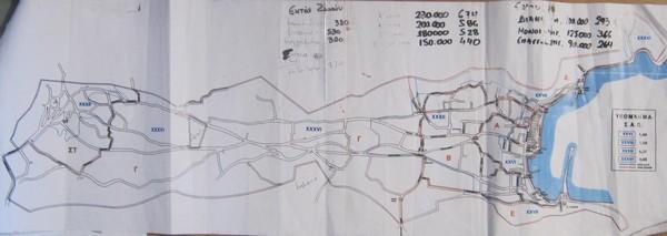 Οι ζώνες σε χάρτη